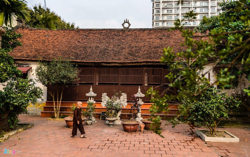 Chùa được xây dựng cùng với viện Châu Lâm vào thời vua Lê Thánh Tông (1460-1497) ở làng Thụy Chương.
