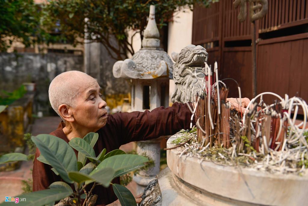 """Giờ đây, ít người biết đến tên gọi """"chùa Bà Đanh"""" trừ những vị cao niên sống trong chùa."""