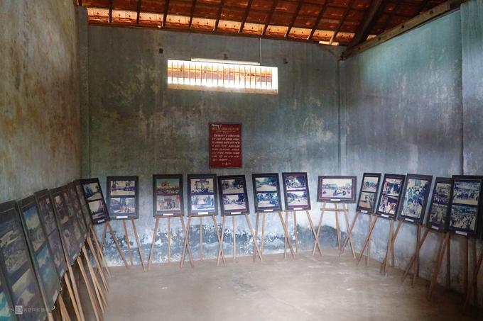 Dãy nhà giam chính chia làm 5 phòng, trong đó phòng số 5 giam tù chính trị nguy hiểm nhất.