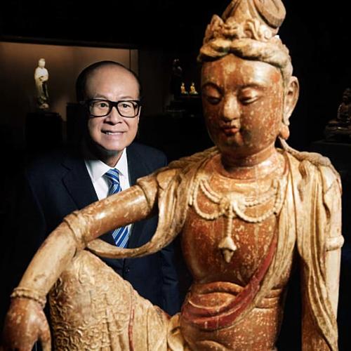 Hầu hết hiện vật do ông Lý và tổ chức từ thiện của ông đóng góp. Ảnh: CK Hutchinson Holdings Ltd.