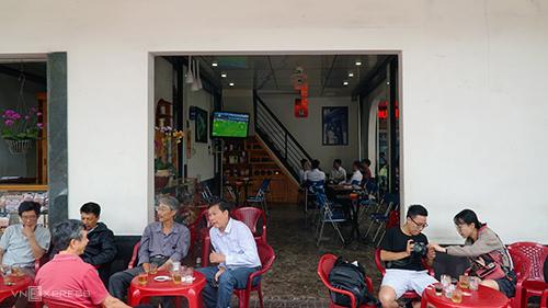 Quán nằm trên đường Nguyễn Thái Học, TP Pleiku. Ảnh: Di Vỹ.