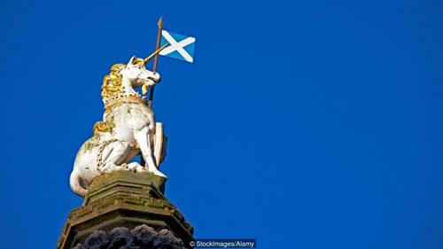Scotland đã chọn ngày 9/4 hàng năm là ngày Quốc gia Ngựa một sừng. Ảnh: BBC.