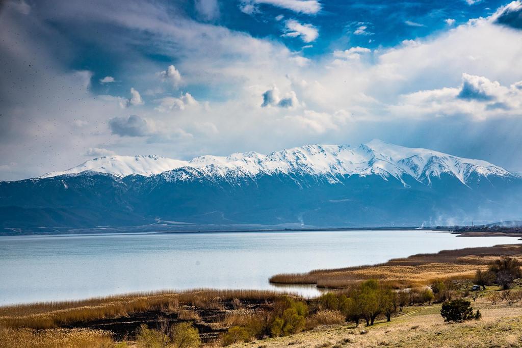 Cảnh đẹp của Thổ Nhĩ Kỳ còn khiến du khách ngẩn ngơ khi đi qua các vùng đất hai bên đường.