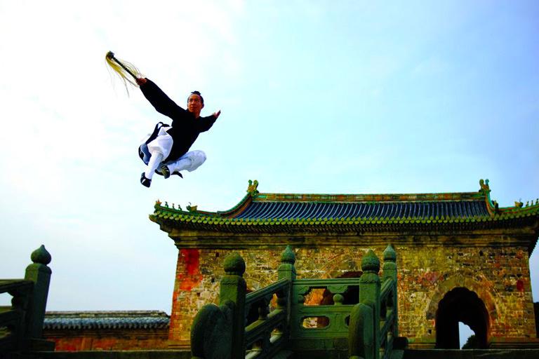 Học trò đời thứ 14 của Trương Tam Phong trình diễn công phu. Ảnh: China Discovery.