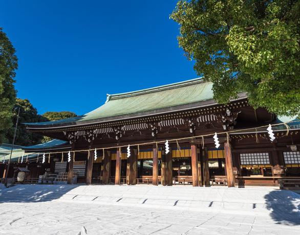 Đền Meiji - Ảnh: GoTokyo