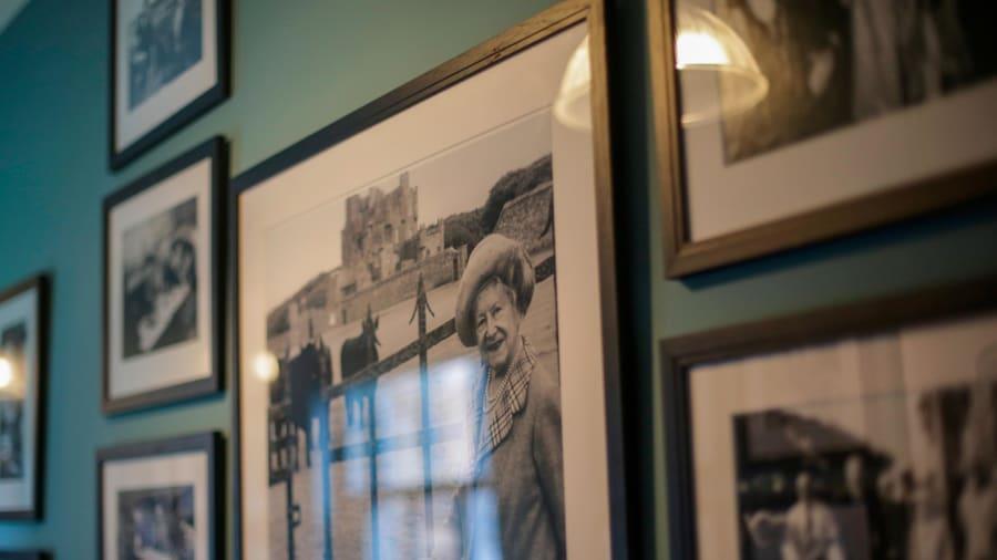 Tòa lâu đài này được xây bởi ngài George, vị bá tước thứ 4 của vùng Caithness (Scotland). Sau khi hoàn thành, nơi đây trở thành điểm lưu trú thường xuyên của giới bá tước, quý tộc Scotland. Đến năm 1952, nữ hoàng Elizabeth, bà của hoàng tử Charles, vì yêu thích nơi này đã mua lại tòa lâu đài.