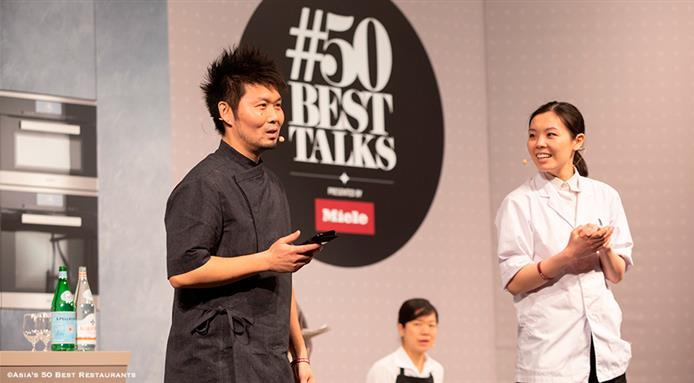 Các đầu nổi tiếng bếp cùng nhau chia sẻ về những triết lý ẩm thực