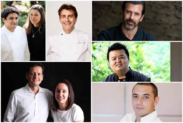Những chuyên gia ẩm thực trong chương trình 50 Best Collaboration Dinners
