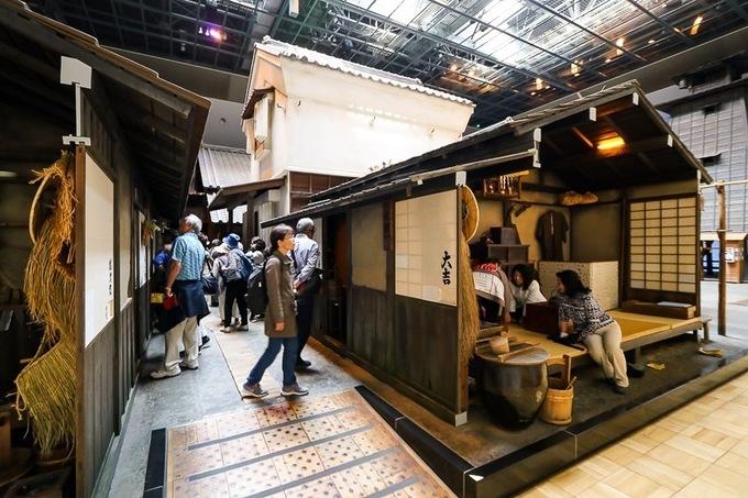 Một góc nhỏ trong bảo tàng Fukagawa Edo.