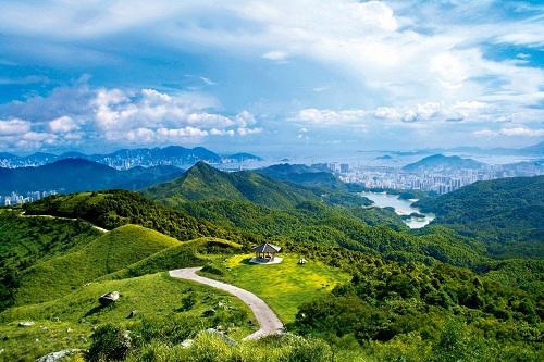 Đường MacLehose là cung đường trekking dài 100 km ở Hong Kong. Ảnh: Bay Area.