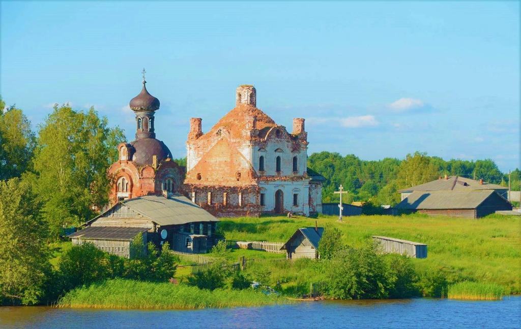 Cảnh làng quê Nga đẹp như tranh vẽ bên dòng sông Volga – Baltic – iVIVU.com