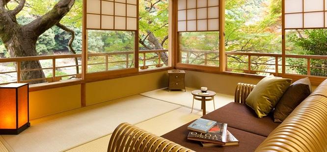 Khách sạn được mô phỏng lại một cách thông minh lối sống truyền thống cổ xưa của người Nhật