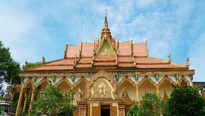 Chùa Mới, ngôi chùa Khmer hơn 140 năm tuổi ở An Giang – iVIVU.com