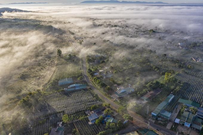 Xã Tân Sơn mùa sương mây, điểm đến tiếp theo trên con đường du lịch của Gia Lai sau khi đi qua Biển Hồ chè.