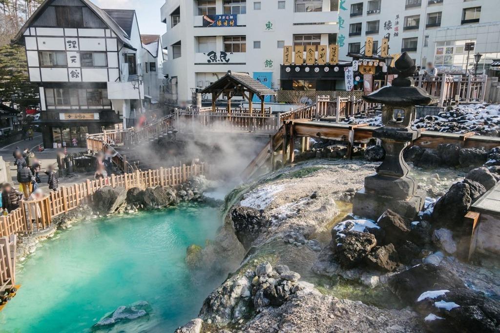 Onsen là một nét văn hóa độc đáo ở Fukushima. Ảnh: Webmagazine.