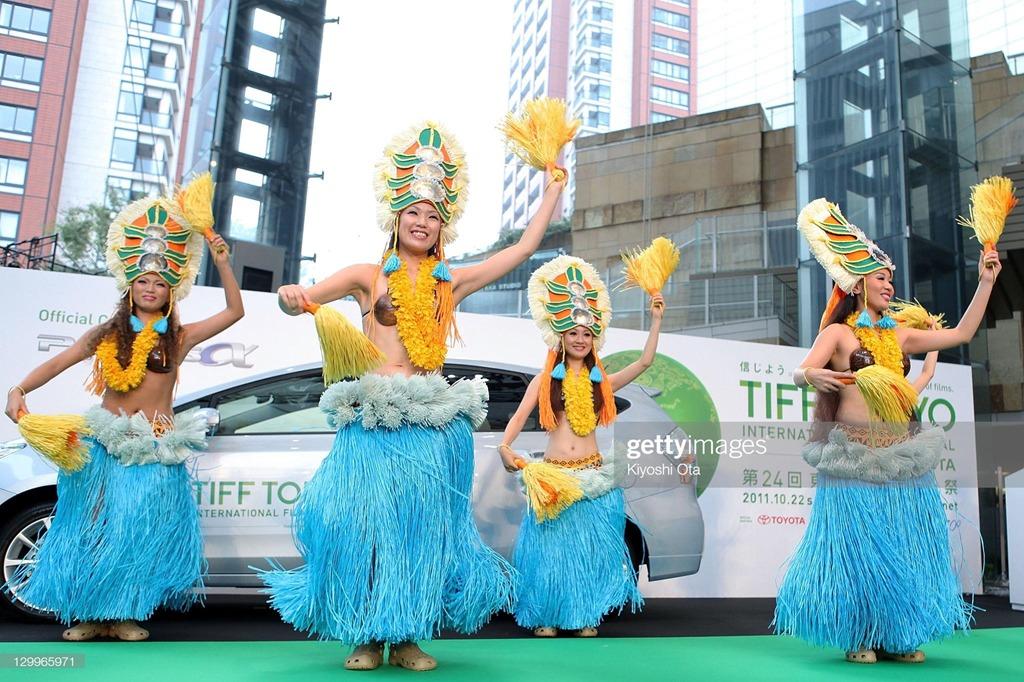 Du khách đến Fukushima sẽ rất ấn tượng với điệu nhảy Hula truyền thống ở nơi đây. Ảnh: Gettyimage.