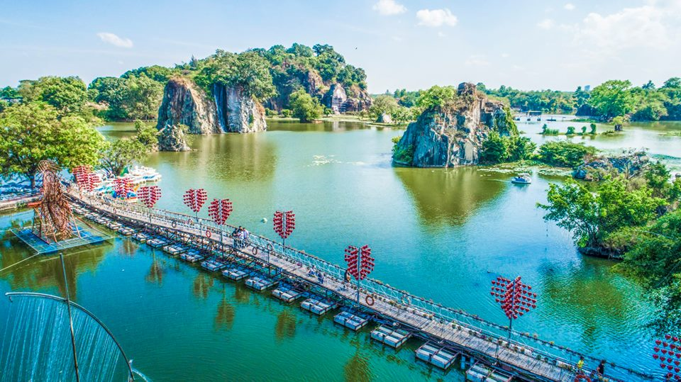 Hướng dẫn đường đi khu du lịch Bửu Long Đồng Nai