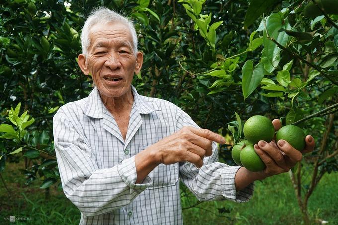 Điểm tiếp theo trên hành trình gần 9 km là vườn trái cây, nơi để tìm hiểu về quy trình chăm sóc hay cấy ghép. Tuỳ thời điểm trong năm mà vườn có các loại trái cây khác nhau.