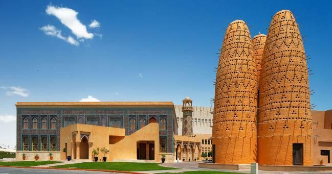 Làng văn hóa Katara – Ảnh: Goexplorecity
