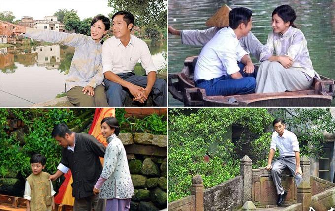 Bởi vậy, Phùng Giản Thôn thường xuyên xuất hiện trong những bộ phim cổ trang của điện ảnh Hong Kong. Một trong số đó phải kể đến Thủ nghiệp giả (Người kế nghiệp) do Mã Tuấn Vỹ và Dương Di đóng vai chính, lấy bối cảnh chính là làng quê Trung Quốc những năm dân quốc. Phần lớn bối cảnh được quay ở ngôi làng cổ Phùng Giản.