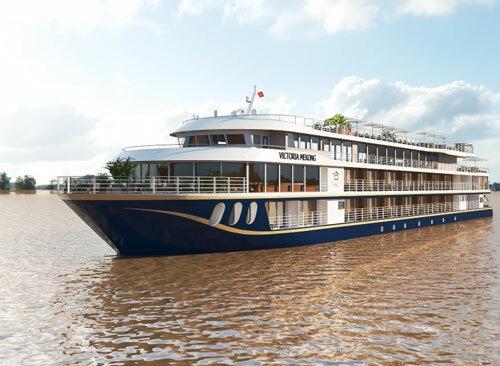 Du thuyền được vận hành bởi Công ty liên doanh giữa Tập đoàn Thiên Minh và Wendy Wu Tours, tập đoàn du lịch lữ hành hàng đầu tại Anh. Ảnh: Victoria Mekong Cruises.