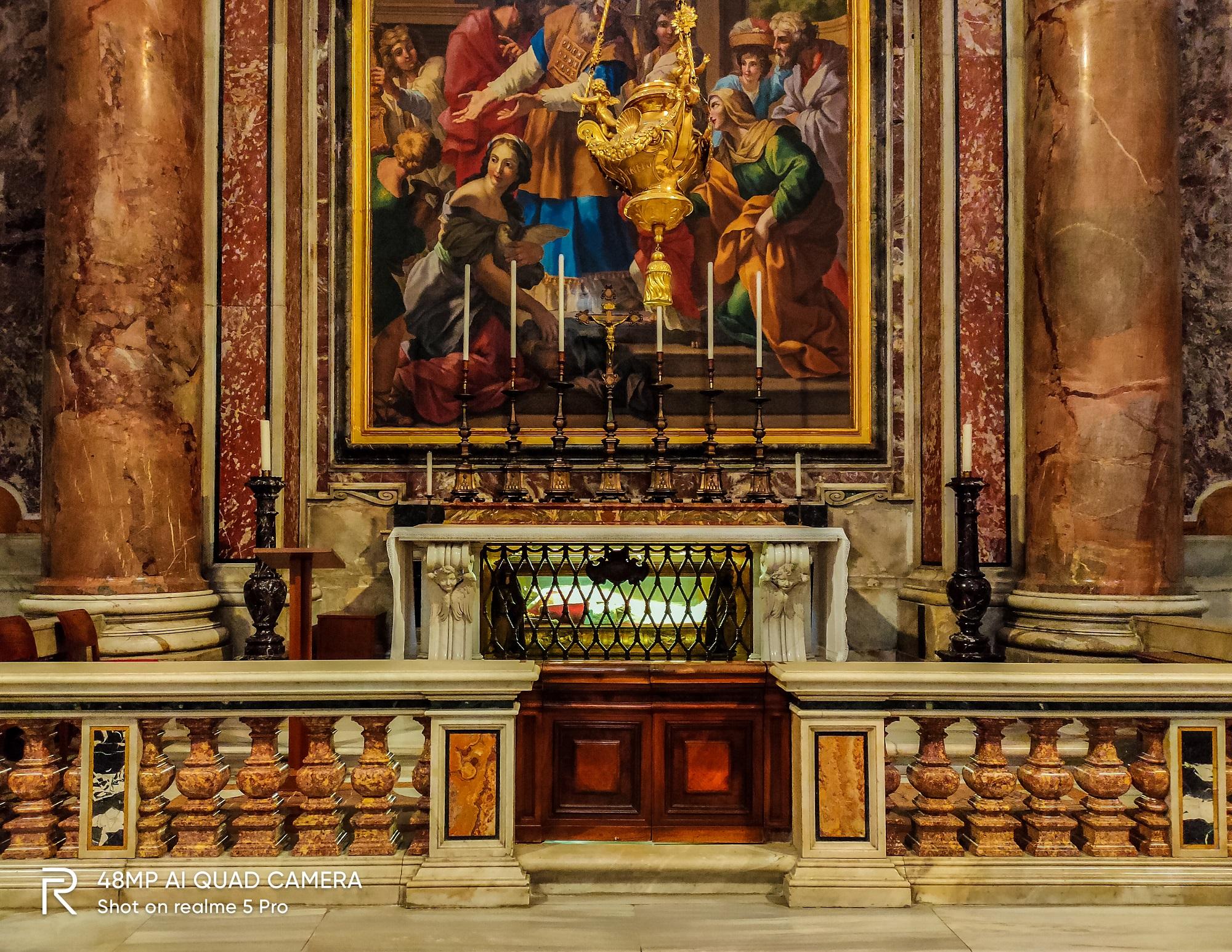 Thi hài của giáo hoàng Vatican.