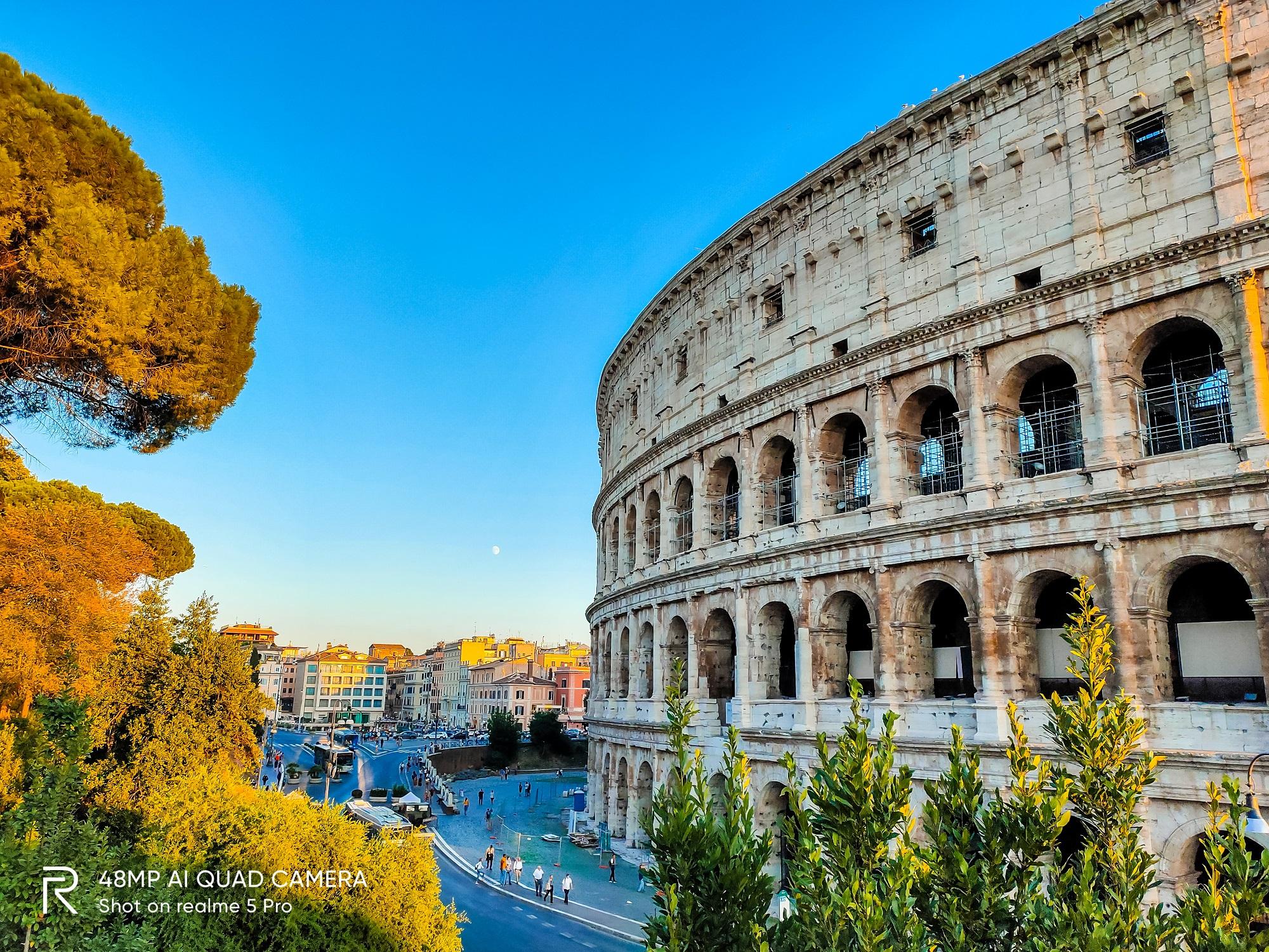 Những cảnh đẹp nổi tiếng là kỳ  quan kiến trúc của Italia.