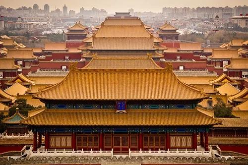 Tử Cấm Thành - quần thể cung điện bằng gỗ lớn nhất thế giới. Ảnh: Abe Yoffe/500px.