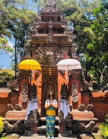 Bali cách TP HCM khoảng 3 tiếng bay.