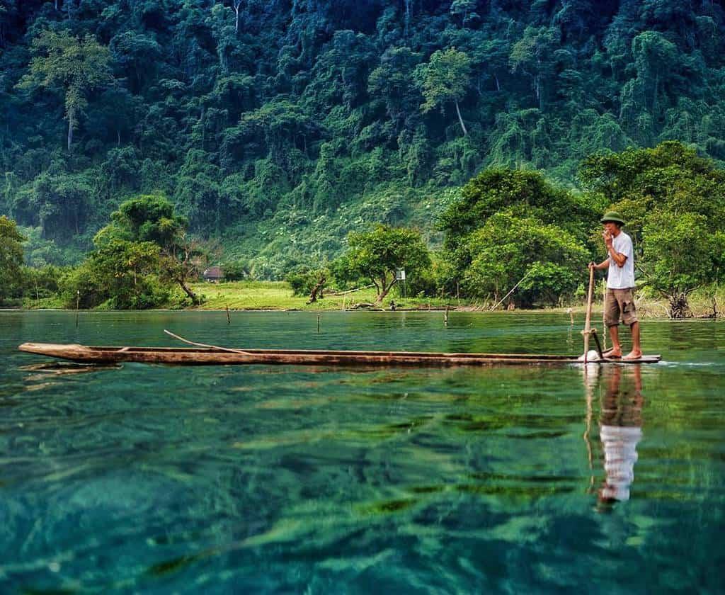 Hướng dẫn đường đi hồ Ba Bể tỉnh Bắc Kạn - iVIVU.com