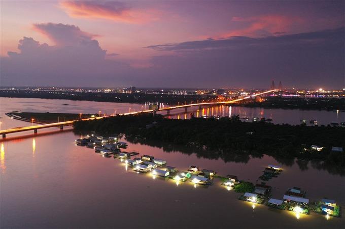 Làng bè du lịch Cồn Phụng, chụp bởi tác giả Nguyễn Văn Luận (Đồng Tháp) đạt giải khuyến khích.