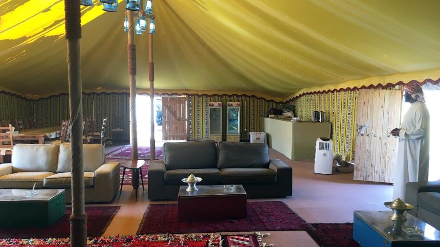 3 khu cắm trại trong khu bảo tồn được xây dựng nhằm phục vụ du khách ở lại qua đêm.
