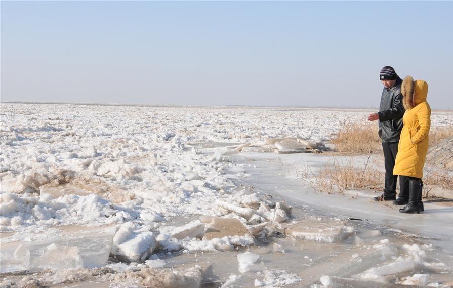 Phần đông lạnh của sông Hoàng Hà trong khu tự trị Nội Mông (phía bắc Trung Quốc) đạt 559,9 km, theo chính quyền địa phương ngày 3/1. Các cục khí tượng thủy văn khu vực, cũng như chính quyền địa phương dọc sông bắt đầu thực hiện những biện pháp phòng ngừa lũ lụt và vỡ đập.