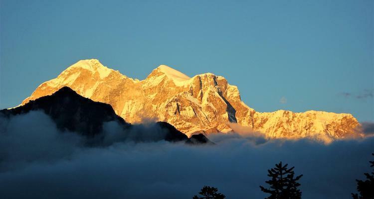 Đỉnh Gaurishankar (7.134 m) là một phần của dãy Himalaya. Ngọn núi này được đặt theo tên của nữ thần Gauri trong đạo Hindu. Ảnh: NTNC.