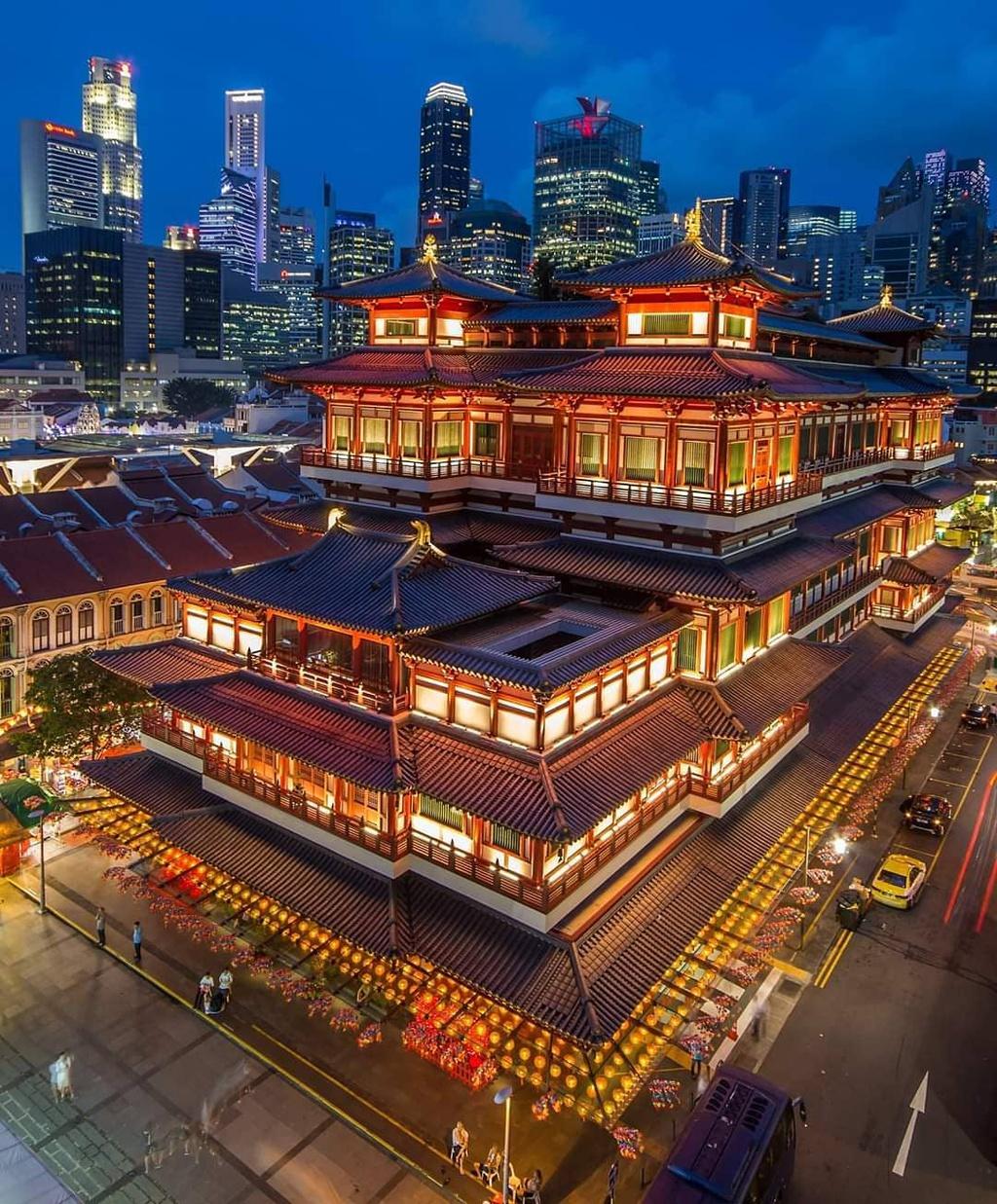 Chùa Phật Nha, ngôi chùa 46 triệu USD ở Singapore – iVIVU.com