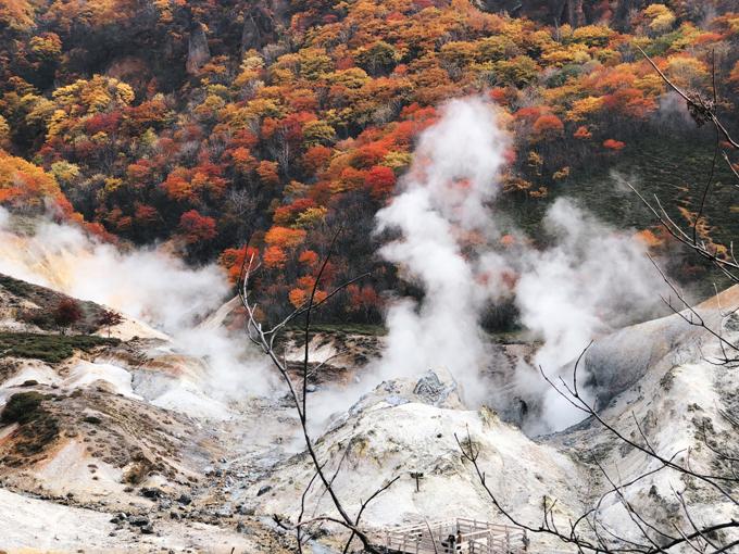 """Tên gọi """"Thung lũng Tử thần"""" bắt nguồn từ vẻ đẹp """"tàn bạo diệu kỳ"""" của chốn này. Dòng nước nóng bốc khói mù mịt giữa khung cảnh núi rừng nơi sẽ khiến cho du khách không thể nào quên."""