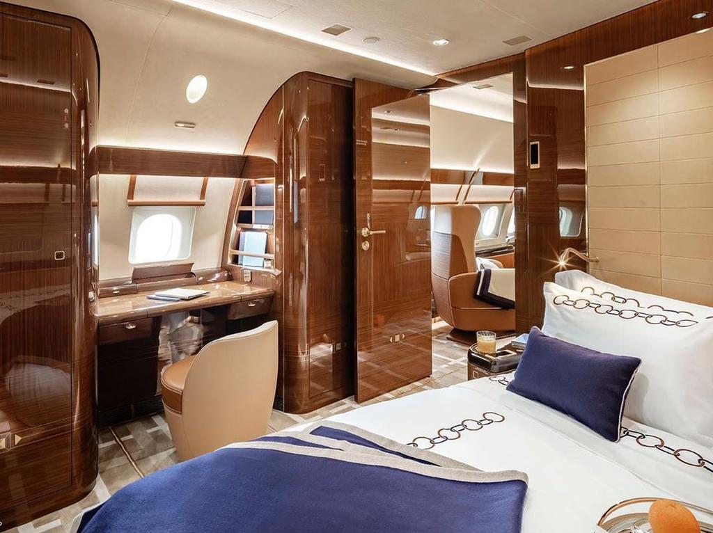 """Jonathan Bousfield, giám đốc điều hành của Acropolis cho biết: """"Chiếc máy bay đặc biệt này sẽ thiết lập các tiêu chuẩn mới về sự thoải mái và hạnh phúc với phân khúc khách hàng VIP. Thiết kế của nó tận dụng tối đa không gian cabin""""."""