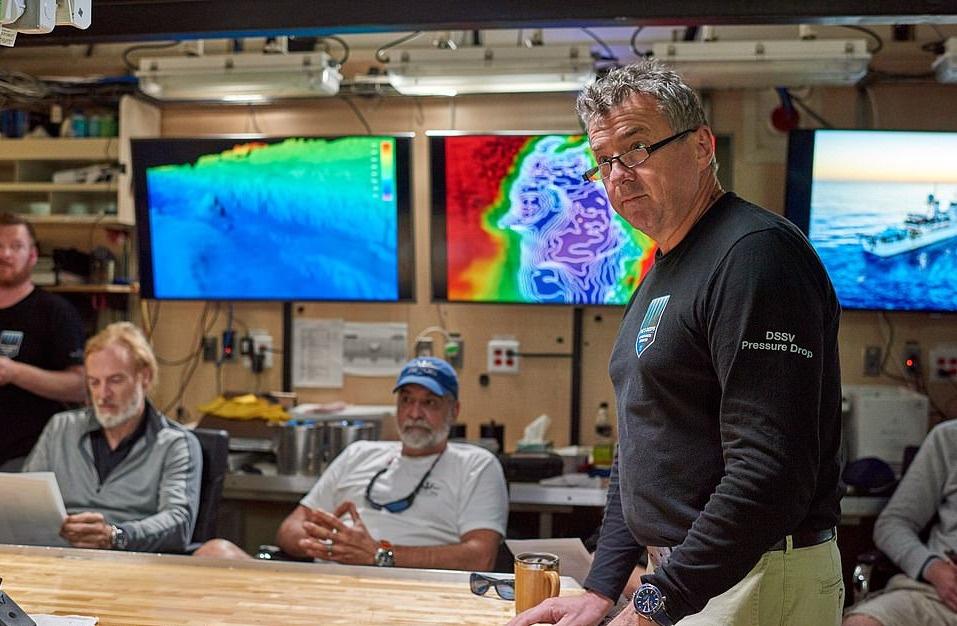 Các lần lặn cho du khách mới đều được diễn tập tại cuộc họp nhóm đầy đủ thuyền trưởng, người điều hành kỹ thuật, nhà khoa học, đội phụ và trưởng nhóm thám hiểm.
