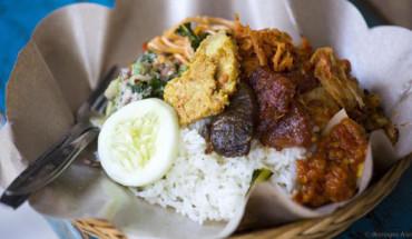 Babi guling in Ubud, Bali