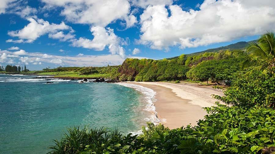 Cung đường dẫn vào thị trấn Maui ở Hawaii sẽ giúp du khách chiêm ngưỡng những gì đặc trưng nhất của Hawaii. Maui Hana Highway được ví như con rắn nằm dọc theo bờ biển Đông Bắc Hawaii bởi những khúc quanh hiểm trở, những đoạn xoắn ốc giữa biển rừng hoang sơ.