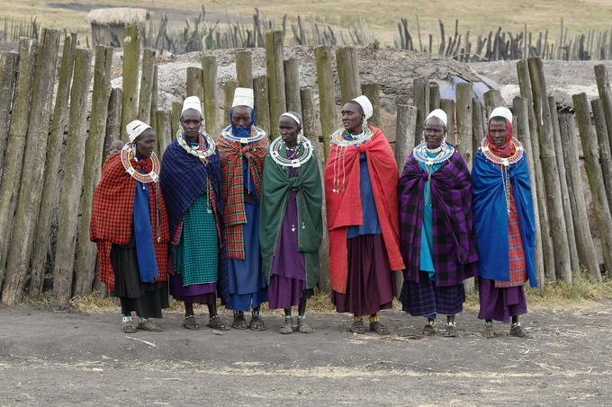 Chị Linh và bạn bè có dịp thăm một ngôi làng của người Maasai ở Khu bảo tồn Ngorongoro. Maasai là một trong 120 tộc người của Tanzania, một trong số rất ít những bộ lạc bán du mục còn giữ được bản sắc và truyền thống dân tộc. Họ sinh sống trong những ngôi nhà tròn dựng từ cành cây, cỏ, nước tiểu bò và phân bò, có hàng rào cao bảo vệ. Người Maasai duy trì chế độ đa thê, vị tù trưởng có 15 vợ.