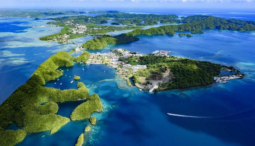 Palau: Cũng nằm ở Thái Bình Dương, quốc gia này có hơn 500 hòn đảo lớn nhỏ, với dân số chưa đầy 22.000 người. Palau có nền văn hóa đặc trưng cùng khung cảnh thiên nhiên nguyên sơ, quyến rũ. Ảnh: World Travel Guide.