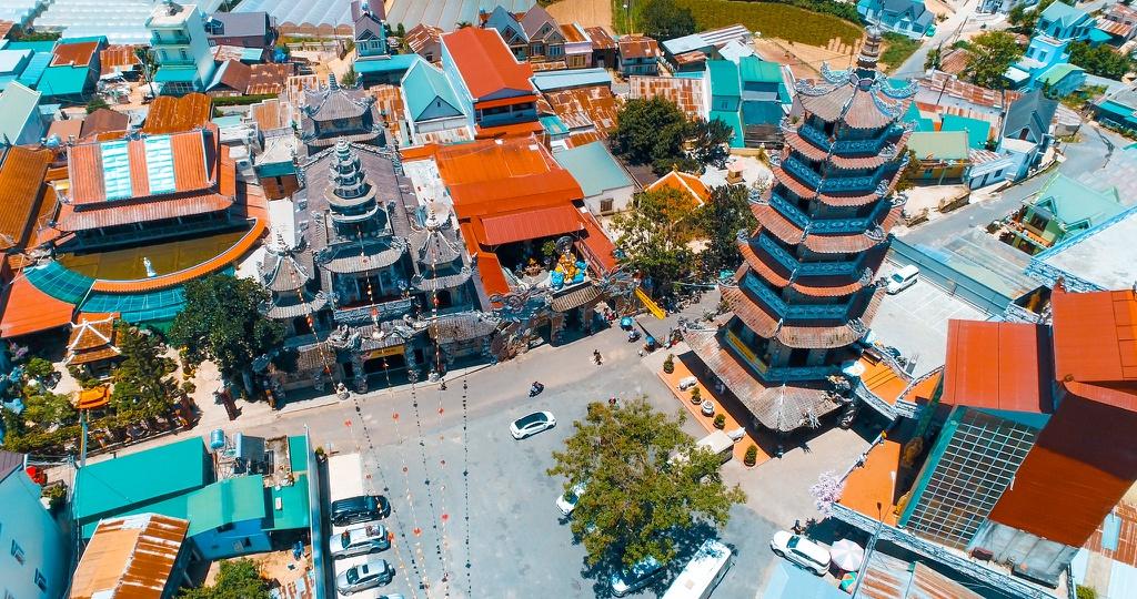 Các điểm du lịch Đà Lạt khác lạ khi nhìn từ trên cao – iVIVU.com