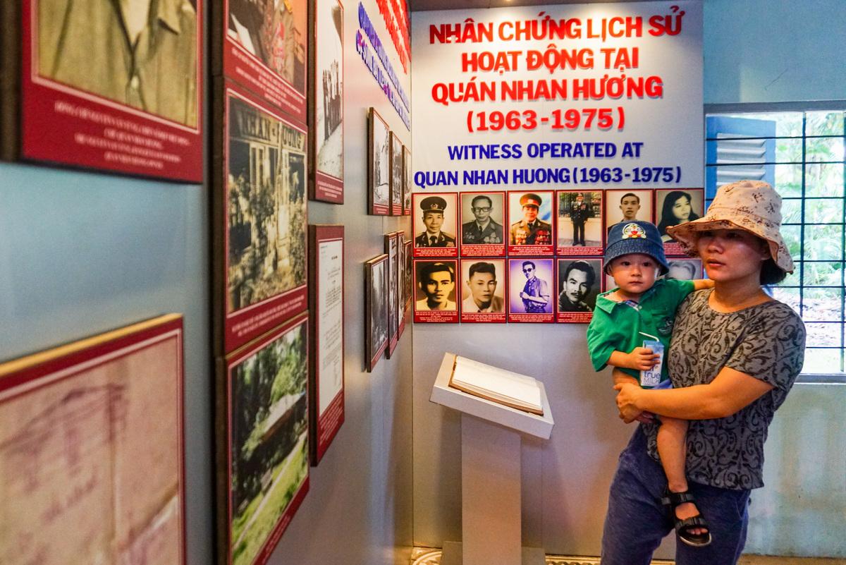 Một góc trong quán ngày nay được làm nơi trưng bày tài liệu, hình ảnh, vũ khí... của lực lượng biệt động Sài Gòn.  Trong cuộc Tổng tiến công xuân Mậu Thân 1968, quán là hậu cứ quan trọng cho các trận đánh vào Dinh Độc Lập, Đại sứ quán Mỹ, Đài phát thanh, Bộ Tổng tham mưu...