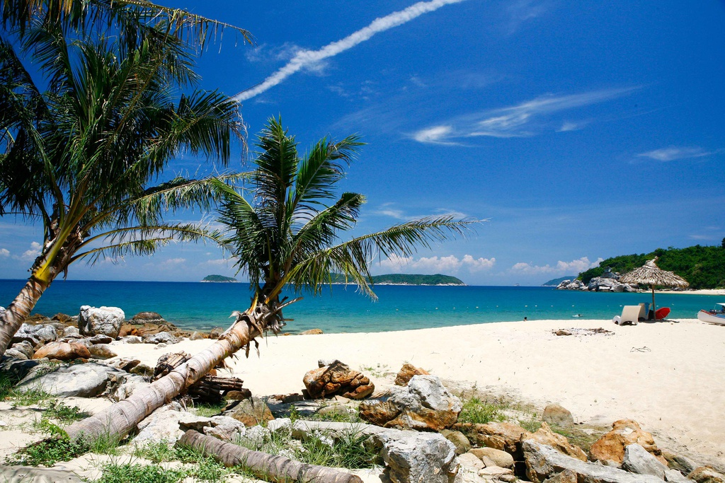 Cù Lao Chàm sở hữu nhiều bãi tắm tự nhiên đẹp và hoang sơ. Ảnh: Binh.le.