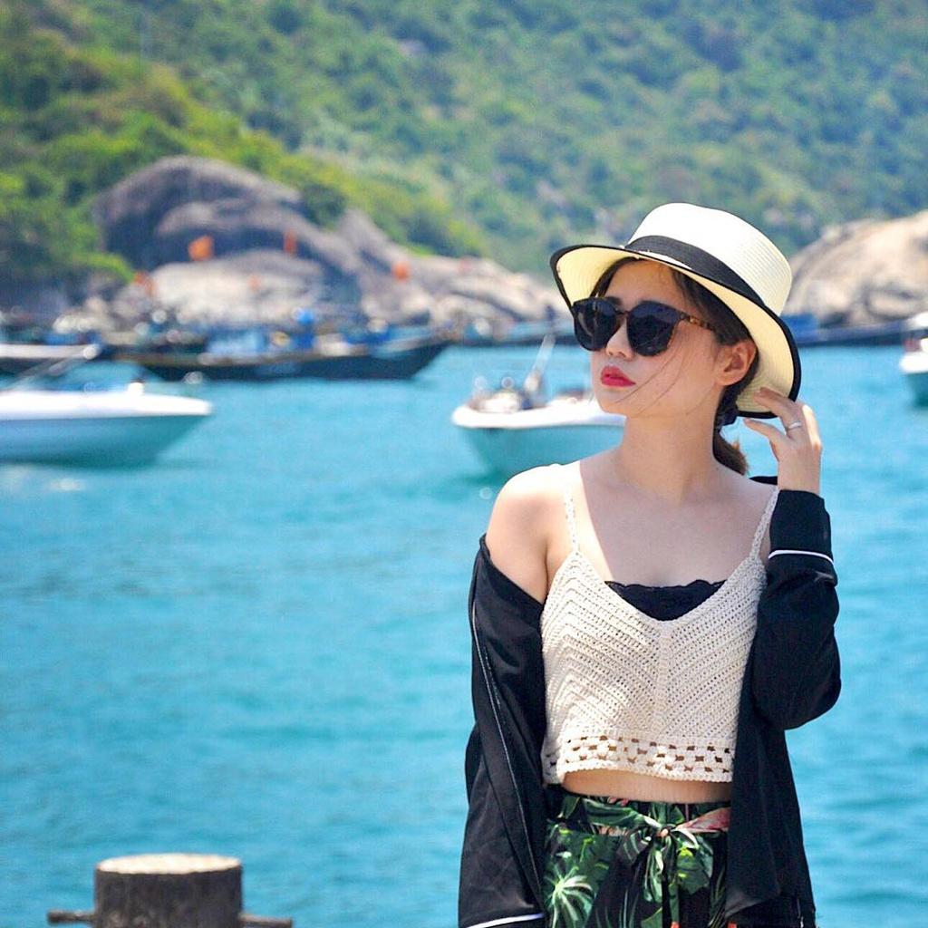 Cảnh sắc thiên nhiên tươi đẹp tại Cù Lao Chàm sẽ giúp bạn thỏa sức sống ảo. Ảnh: Pyen.py.