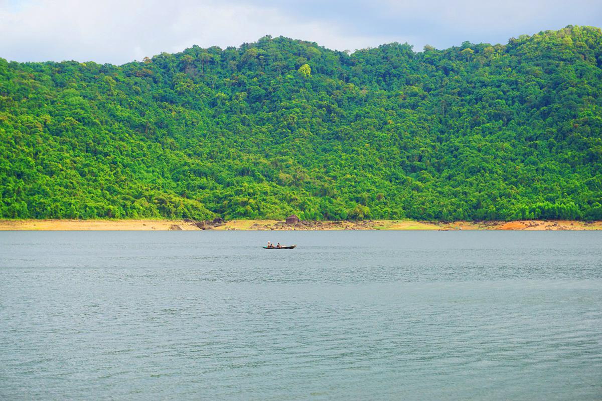 Hồ Núi Một sở hữu nguồn thủy sản phong phú với nhiều loài cá như cá rô phi, cá chép, cá hồng...