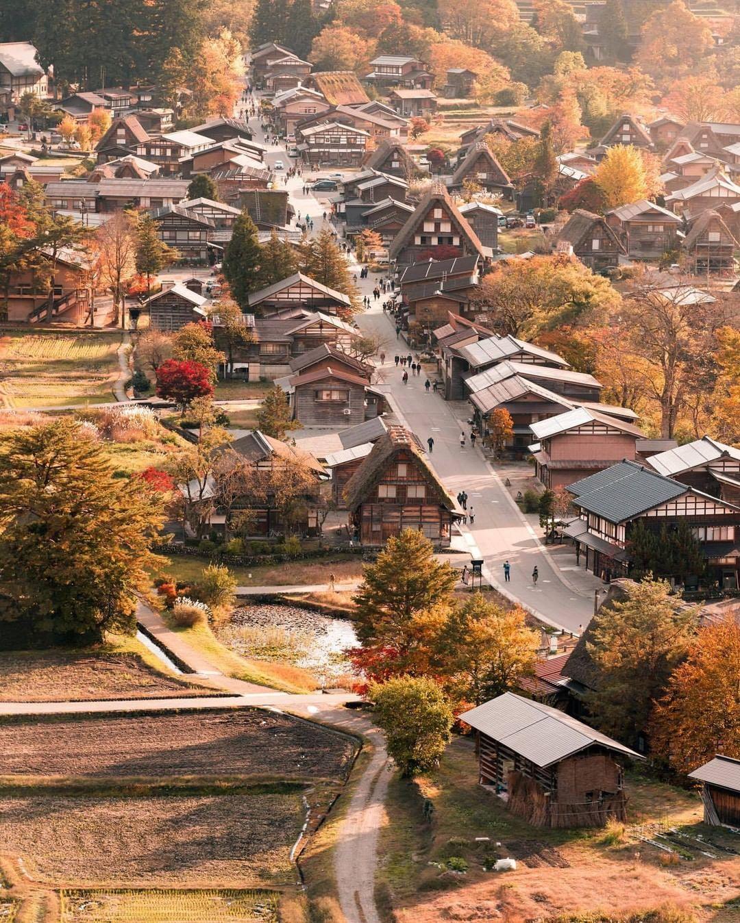 Shirakawa vào thu