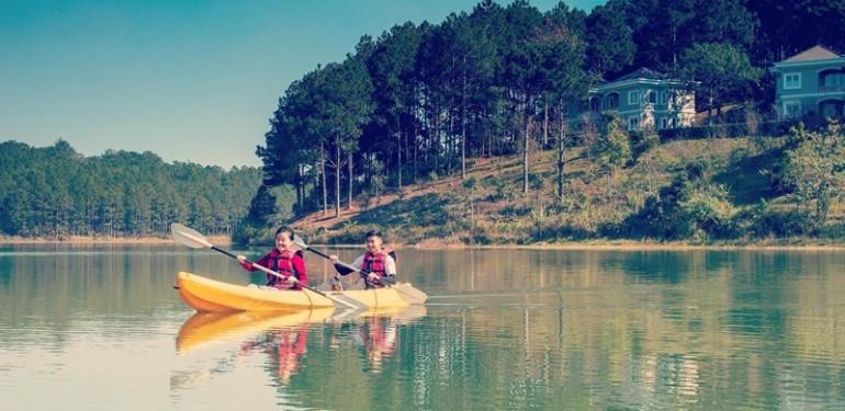 Ảnh: Fanpage Khu nghỉ dưỡng Edensee Lake Resort & Spa Đà Lạt