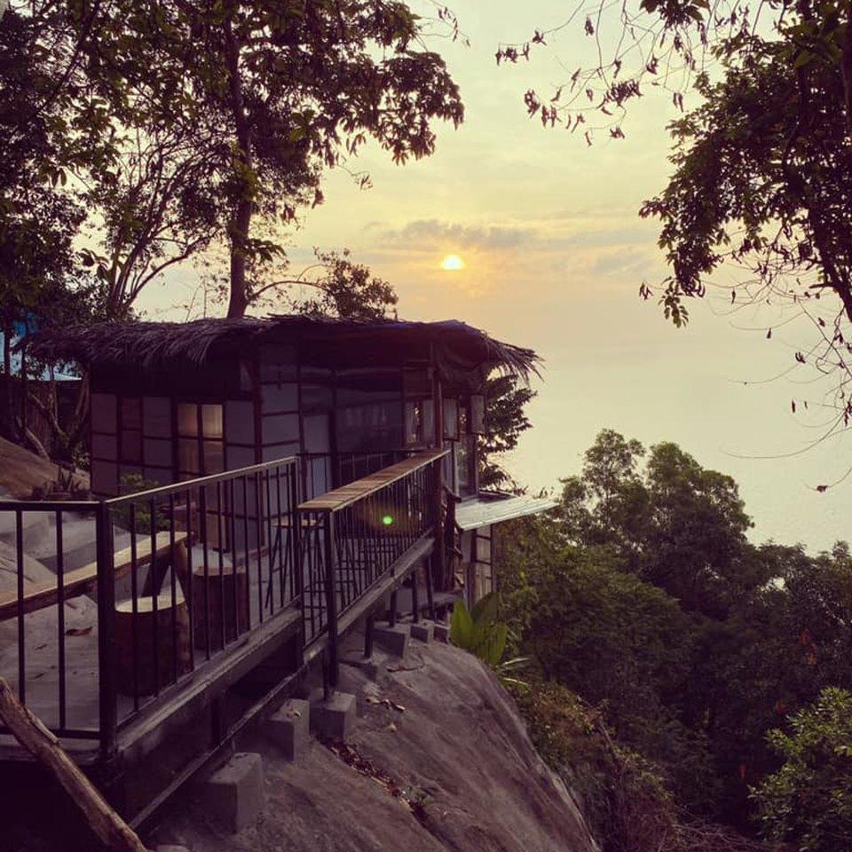 Sohora sea mountain bungalow, homestay lưng tựa núi view hướng biển đẹp mê mẩn ở Hòn Sơn